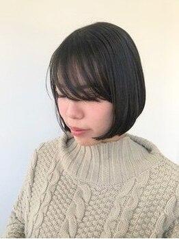 モニファ(Monifa)の写真/《髪質改善ストレート》髪のゴワつき、パサつきにお悩みの方にオススメ♪シルクのような滑らかな美髪に―。