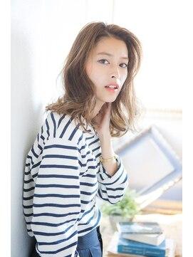 アリシアヘアー(ARISHIA hair)【ARISHIA hair 那珂】ベージュカラー 無造作 ふわミディ ♪