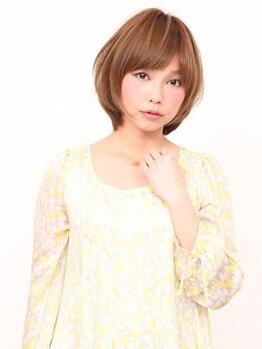 ファンタ(Fanta)の写真/≪前髪≫≪シルエット≫≪毛先の柔らかさ≫にこだわったカットで再現性の高い似合わせスタイルに☆