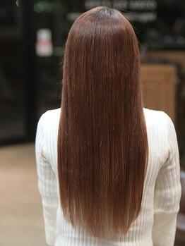 キュア ラボ バイ ヴィア(Cure Labo×via)の写真/美髪チャージという新発想テクノロジー!!S-AQUA(サイエンスアクア)を導入☆傷んだ髪も美髪に変化します♪