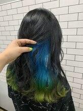 リルフェアリー 磐田店(Li'lFairy)夏が終わっても派手髪☆インナーグラデーション