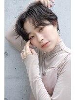 [LOJE]暗髪×ハンサムショート