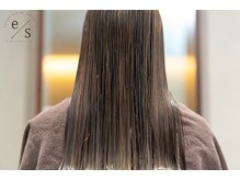 エストータルビューティサロン(es TOTAL BEAUTY SALON)の雰囲気(なりたいイメージ、理想の髪質に♪酸熱縮毛矯正ストレートも!)