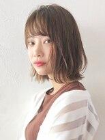 アルバム シンジュク(ALBUM SHINJUKU)外ハネボブ_ネイビーカラーフレンチボブ_36428