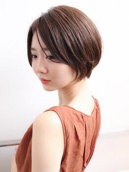 ヘアアトリエ ヴィフ(hair atelier Vif)の写真/人気のショートヘアにしたいけど似合うか分からないと悩んでる貴方♪hair atelier Vifにお任せください。