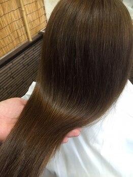 ヘアー サロン 禅 花鳥風月の写真/東海尾張地区では希少な[オーダーメイド艶髪ヘアエステ]無限の組合せの中からあなたの髪だけに合った栄養を