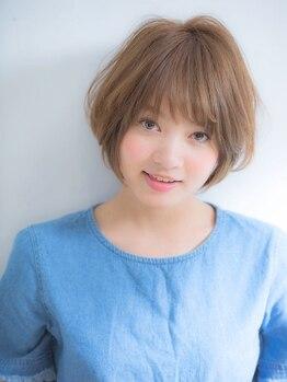 ウィービーパセリ(webeparsley by Johji Group)の写真/一味違う持ちの良いカットを思い通りの表情に。【スチームハホニコトリートメント+カット¥4680】