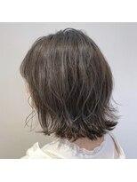 ネオヘアー 京成曳舟店(NEO Hair)ミニボブ×カーキグレイ【京成曳舟】