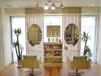 ヘア アトリエ モテナ(hair atelier motena)の写真