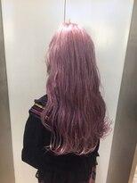 ヘアサロン ドット トウキョウ カラー 町田店(hair salon dot. tokyo color)【White lavenderpink11】ダブルカラーカラーリスト田中【町田】