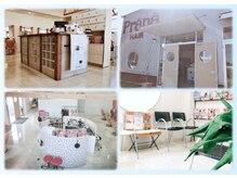 ヘアープラーナ 土器店(HAIR pranA)の雰囲気(白を基調とした、開放感ある店内で、リフレッシュしませんか?)