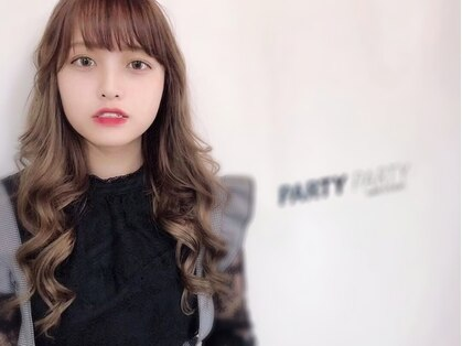 パーティパーティ ヘア(PARTYPARTY hair)の写真