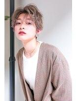 ルージュ(Rouge)【山野 俊貴】3Dベージュカラー王道シルエットショートボブ