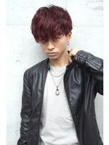 フェス カットアンドカラーズ(FESS cut&colors)スマートマッシュ×ニュアンスパーマ】『FESS 鶴丸』