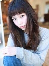 アグ ヘアー フラウ 岡崎2号店(Agu hair flau)☆スポンテニアス×ロングウェーブ☆