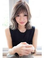 【EIGHT new hair style】外はねミディー★斜めショートバンク