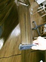 長年の経験から髪質に合わせた独自の縮毛矯正の方法で施術♪