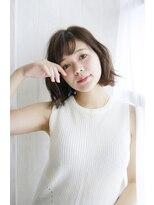 リゾートサロンM 新宿東口(Resortsalon M by valore)Resortsalon M【新宿東口店】シースルーバングゆる外ハネカール