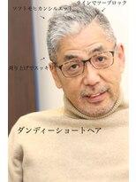 【マツナガ箱崎】40代50代ソフトモヒカンツーブロック