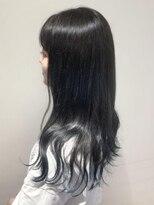 ネオヘアー 東向島店(NEO Hair)ダークグレージュ×裾カラー