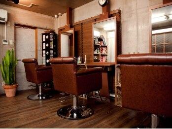 ヘアスタジオ トランク(Hair Studio TRUNK)の写真/親しみやすいスタイリストが最初から最後までしっかり担当する、ゆったり過せるアットホームサロン。