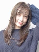 キレイめ脱力系ロングヘア#小顔#ブランジュ#美髪
