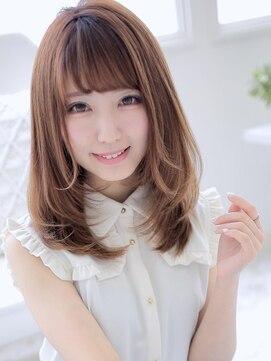 アグ ヘアー シルエ 和泉府中店(Agu hair silje)好感度アップな清楚系ロブ