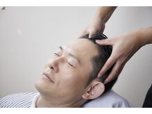 メンズ ウィル バイ スヴェンソン 大宮スタジオ(MEN'S WILL by SVENSON)の雰囲気(専門のプロ技で熟練のマッサージを体験。頭皮ケアと共に癒しを)