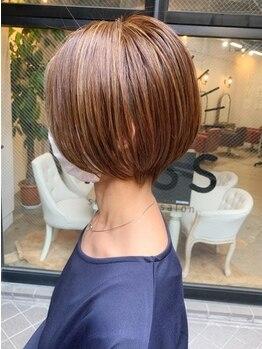 ショートオンリーサロントス(short only salon TOSS)の写真/クセでお悩みの方必見!脱・縮毛矯正を目指して扱いやすい髪へ導きます★【くせ毛に救いを】