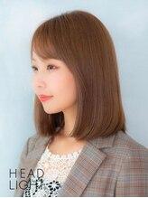 ソーエン ヘアー エイト 札幌駅前店(soen hair eight by HEADLIGHT)くるんと内巻き美髪ストレート