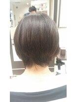 コレット ヘアー 大通(Colette hair)クセが強い方でも縮毛矯正×Befor写真あり