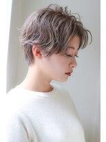 ルージュ(Rouge)【山野 俊貴】ネープスッキリタイトショートボブ