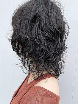 キルト(kilto.)の写真/髪に優しいエアウェーブがオススメ☆パーマ後とは思えない柔らかい質感とツヤに感動すること間違いナシ♪