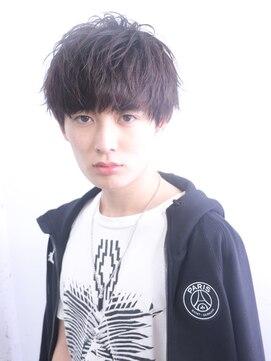 アルバム シンジュク(ALBUM SHINJUKU)ワイルドアップバングテクノ王道ラウンドマッシュ_25157