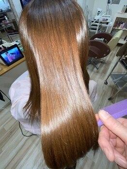 ラヴィヘアスペース(La Vie hair space)の写真/《本気の髪質改善サロン》新導入トリートメント好評!髪のお悩みを本質的な解決へ導く、圧倒的技術を体感♪