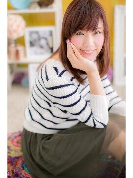 ミック ヘアアンドメイクアップ 大塚店(miq Hair&Make up)好感ストレート☆モテカラーで女子力UP!