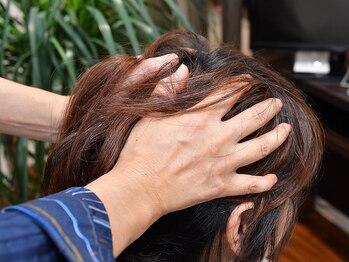 美容室 サンローズの写真/ダメージレスな天然素材にこだわり、地肌と髪を考えた大人女性向けカラーが得意なサロン!!