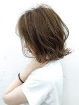 【Blanc/浜松】無造作ハイライト/外ハネボブha