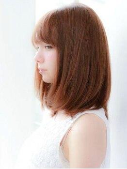 リリヤン ヘアーアンドアイラッシュ(Lilian)の写真/【近鉄郡山駅】取扱店の少ない、希少な『電子トリートメント』でずっと触っていたくなる美髪へ…♪