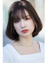 カインド 南青山(hair&make up KIND)ゆるふわボブ