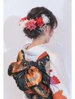 マウロア(MAULOA)【MAULOA】 成人式 着物ヘア 卒業式 黒髪 ヘアアレンジ