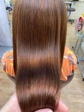 ラピッシュ 南三番町店(Lapish)<ラピッシュ南三番町>ネオリシオ縮毛矯正髪質改善マロンベージュ