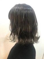 ヘアーアンドメイク ルシア 梅田茶屋町店(hair and make lucia)3Dハイライト×ライトグレージュ