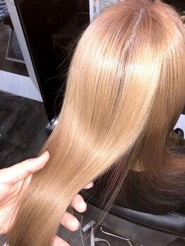 ビグディーサロン(BIGOUDI salon mukonosou)の写真/髪質改善メニュー多数!蓄積ダメージ・年齢による髪質の変化などで扱い辛く弱った髪も、健康的な強い髪に♪