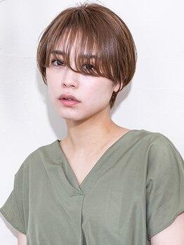 ヘアーディレクション オクハラ(hair direction okuhara)の写真/骨格・顔のバランスを見極めた似合わせStyleを実現◇ヘアケアにもこだわり地肌環境から美しく致します…