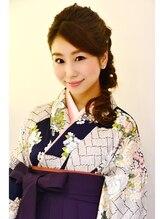 ヘアーデザイン ミヤビ 広尾(HAIR DESIGN MIYABI)卒業式 袴着付け+ヘアセット+メイク F
