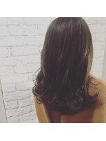 シャインヘア モカ 新宿(Shine hair mocha)イルミナカラー 3Dカラー ジグザグバング ミニマムボブ_新宿 77