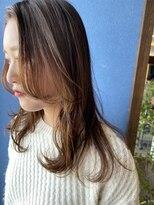 クブヘアー(kubu hair)《クブヘアー》ロングレイヤーオフィスヘアー