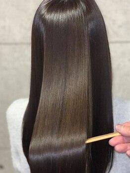 ボタニウム ドット アン(BOTANIUM.An)の写真/《最先端トリートメント!人幹細胞HAS & 水素》髪の深部まで潤い補給/圧倒的ツヤ感となめらかな指通り♪