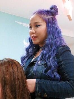 マーメイドヘアー(mermaid hair)の写真/《女性スタイリストOnly★》オシャレ女子度をUPさせる!女子が思う可愛いを叶えるためのワガママサロン♪
